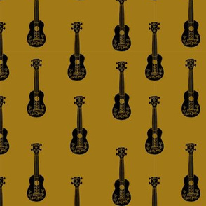 ukulele // musical instrument kids guitar fabric instruments music pattern