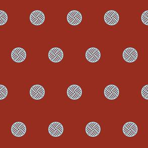 YarnCon Polkadots-dark, medium