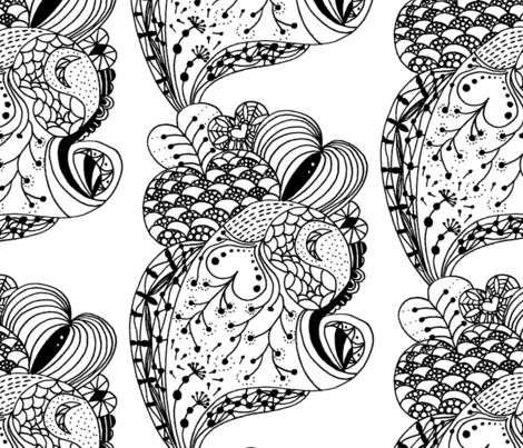 love fabric by chiheylee on Spoonflower - custom fabric
