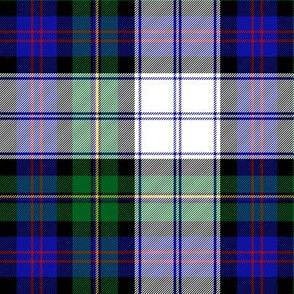 """Malcolm dress tartan, 6""""  (1830 Paton)"""