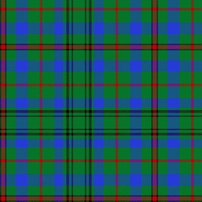 Moncrieffe tartan, possibly Moncrieffe of Atholl, green/blue, 6""