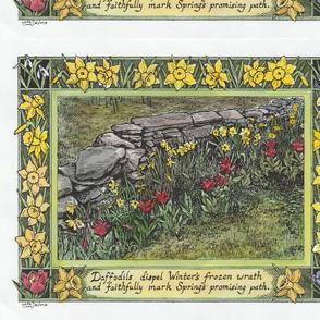Daffodil designer panels