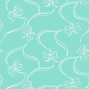 Delicate Bows (Seafoam)