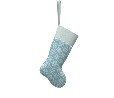winter snowflake cyan blue
