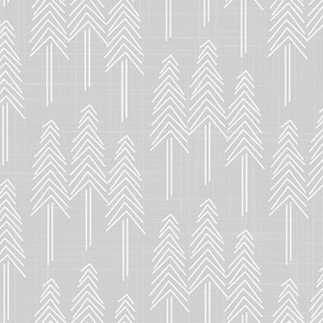 Forest - Pine Trees Stone White