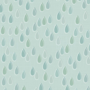 Forest - Drops Mint White