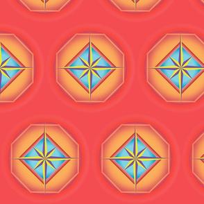 Starburst polygon