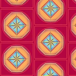 Polygon star tiles