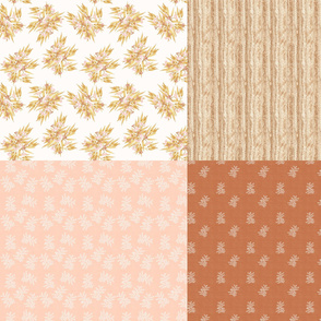 FatQuarters, Desert Ochre Part 1// Australian botanicals and textures in natural colours, desert country fabric