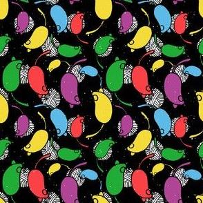 Bubblegum Rainbow Yarn and Mouse Overlay