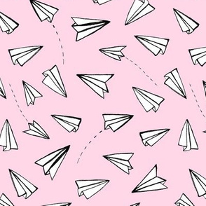 Paper Planes on Pink
