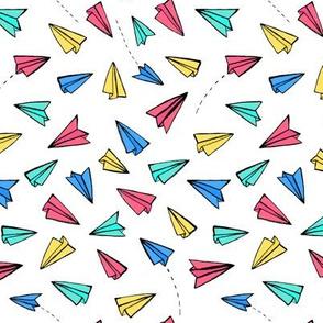 Rainbow Paper Planes
