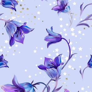 Bluebells and stars