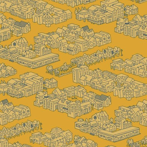 City Neighborhoods - Mustard