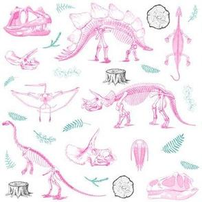 "8"" Dino Life Girls"