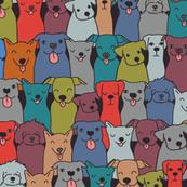 dog pattern _