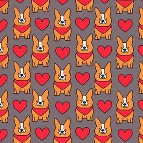 corgi pattern 01