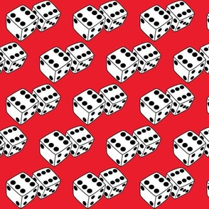 dice-on-red