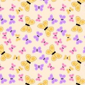 Bold buterflies  gold