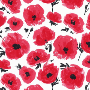 poppies-heather
