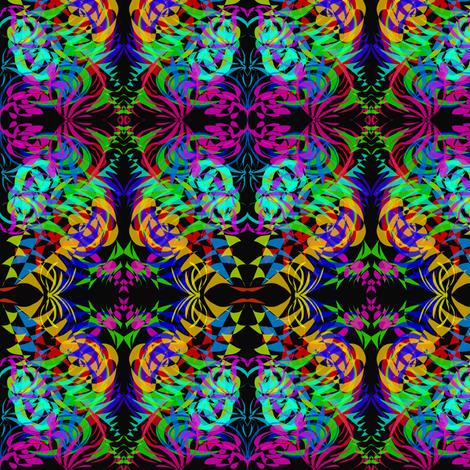 A Wild World of Colour fabric by rhondadesigns on Spoonflower - custom fabric