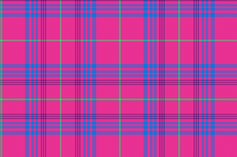 TuckerPlaidPink fabric by digital_caiman_designs on Spoonflower - custom fabric