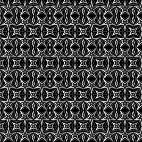 Graphic Stars_Black and silver
