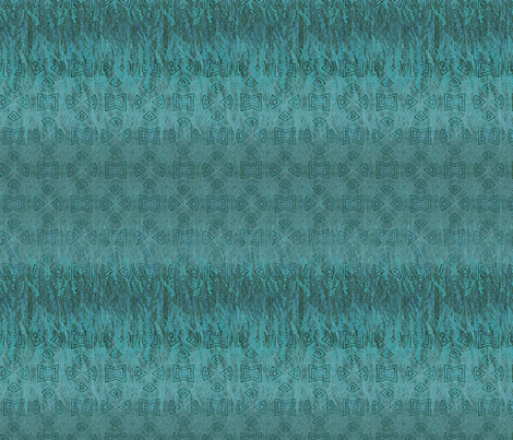 star aqua teal fabric by wren_leyland on Spoonflower - custom fabric