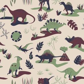 Dino-mite! - Cretaceous