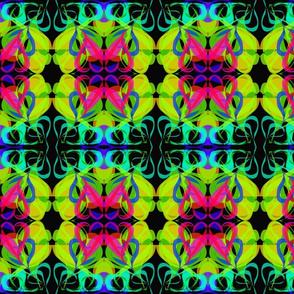 Vibrant Valentine Lace - Medium Scale