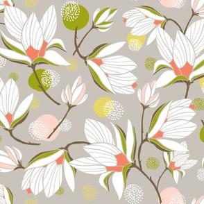 Magnolia Blossom - Floral Stone