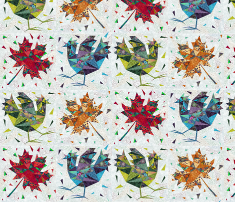 fragments fabric by gaiamarfurt on Spoonflower - custom fabric