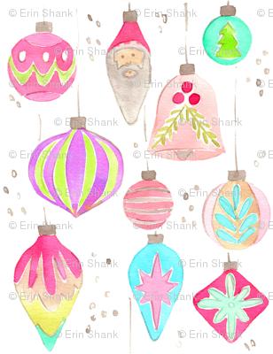 ornaments vintage mini
