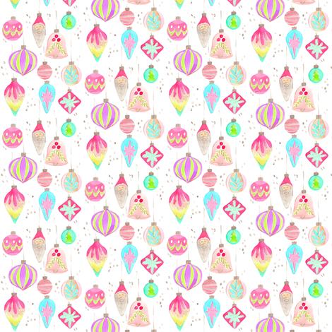 ornaments vintage mini fabric by erinanne on Spoonflower - custom fabric