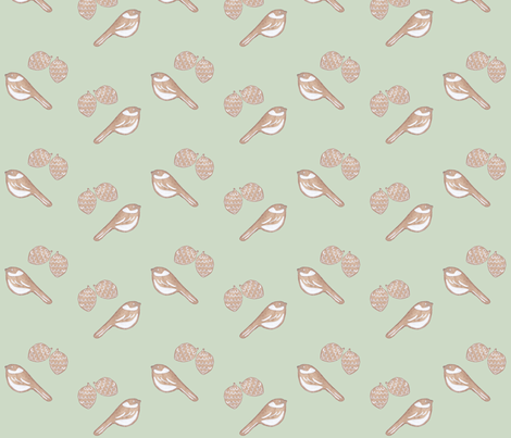 Gingerbread fabric by remark on Spoonflower - custom fabric