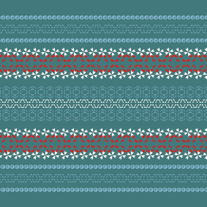 OldWorldStitch_dark teal red