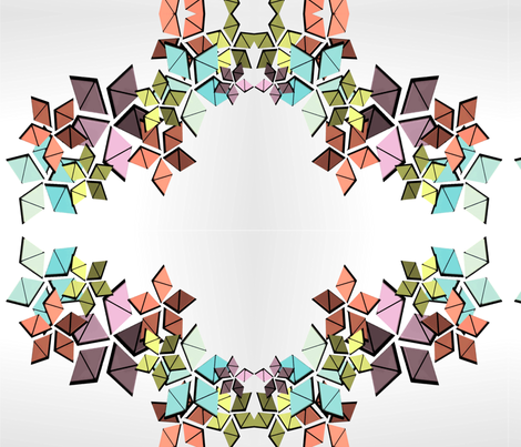 Leaf Train fabric by clary_tc on Spoonflower - custom fabric