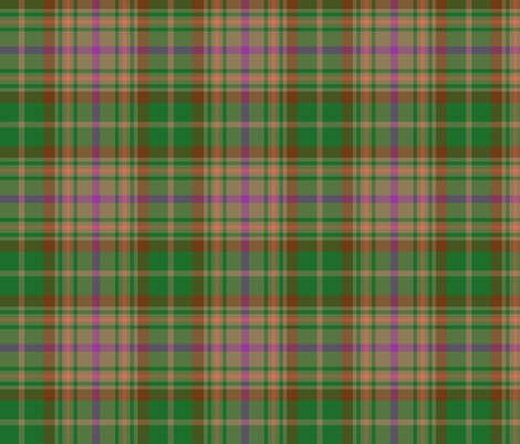 "Annand of Nova Scotia tartan, 6"" fabric by weavingmajor on Spoonflower - custom fabric"