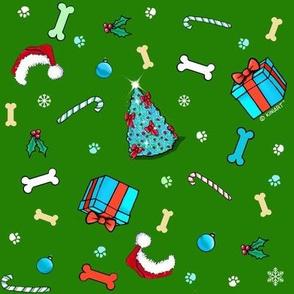 Generic Dog Christmas LG