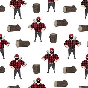 Lumberjacks - buffalo check