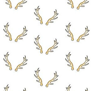 Regal Antlers in Snow White