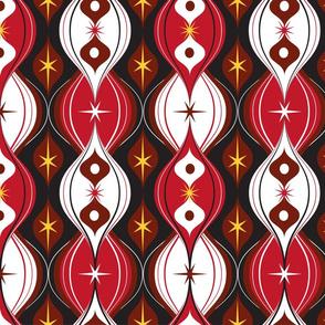Ornamental Red Ogee