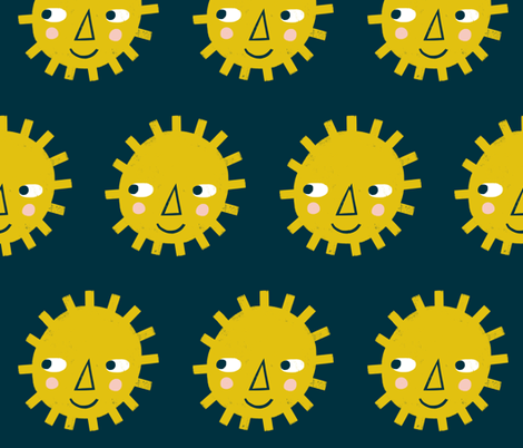 Sunshine fabric by anda on Spoonflower - custom fabric