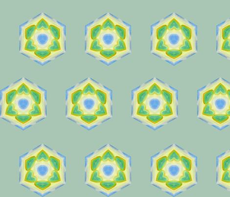 kaleidiscope ~ island 2 fabric by cardamom_copy on Spoonflower - custom fabric