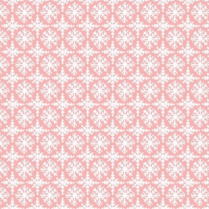 Snowflakes in Pink