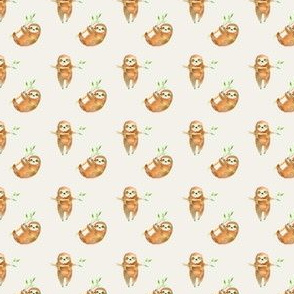 "3/4"" Baby Sloths"