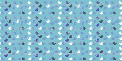 little blue whales