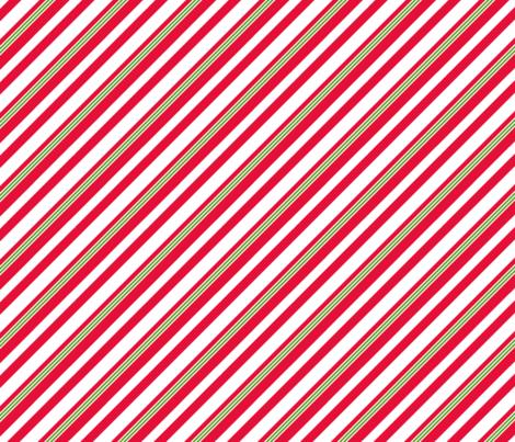 candy cane bias alt fabric by littlerhodydesign on Spoonflower - custom fabric