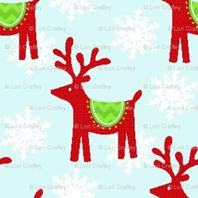 little cheery reindeer