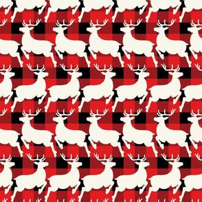 reindeer prancing sm